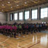 【女子バレーボール部】Jr.サンフラワーカップが開催されました