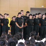【生徒会】県総体壮行会