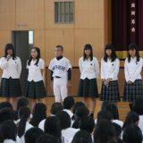 【生徒会】生徒会役員 退任式・就任式