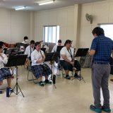 【吹奏楽部】オープンスクールで演奏しました